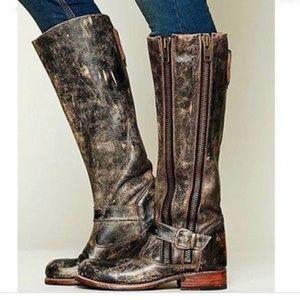 Bedstu Tango Double Zipper Tall Boots Size 9
